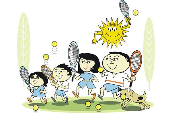 Jak zostać dobrym tenisowym rodzicem