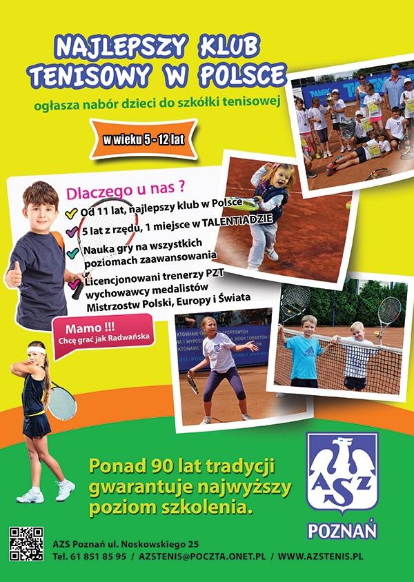 Nabór do szkółki tenisowej