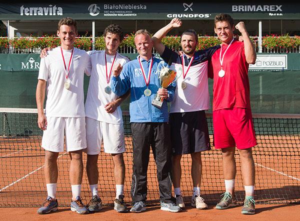 Złoty medal Drużynowych Mistrzostw Polski Mężczyzn