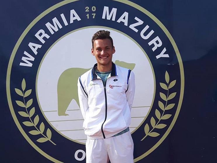 Piotr Matuszewski i Maciej Smoła w Kołobrzegu na turnieju ITF