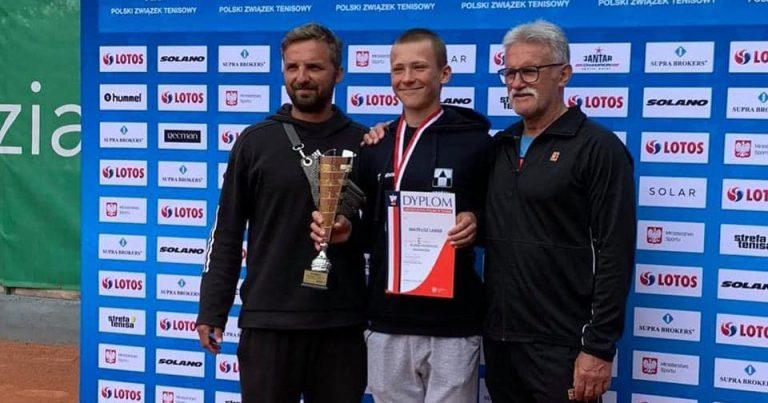 2 medale Mateusza Lange na Mistrzostwach Polski Młodzików