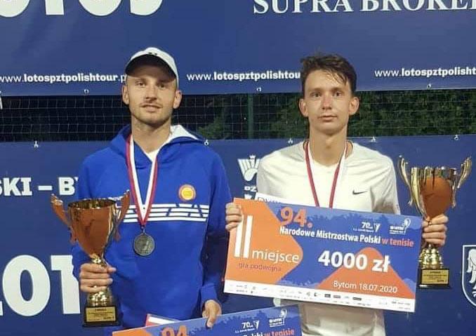 Dominik Nazaruk srebrnym medalistą Narodowych Mistrzostw Polski