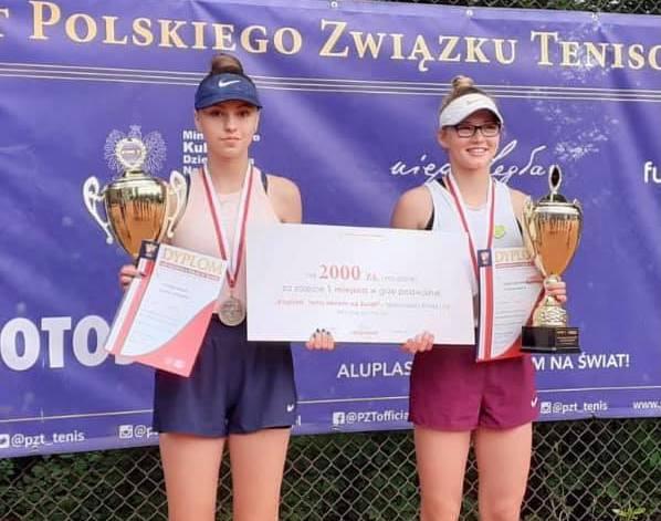 Wielki sukces Amelii Paszun na Mistrzostwach Polski Młodzików U14 w Łodzi